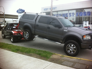 towing ford f150 from Ford
